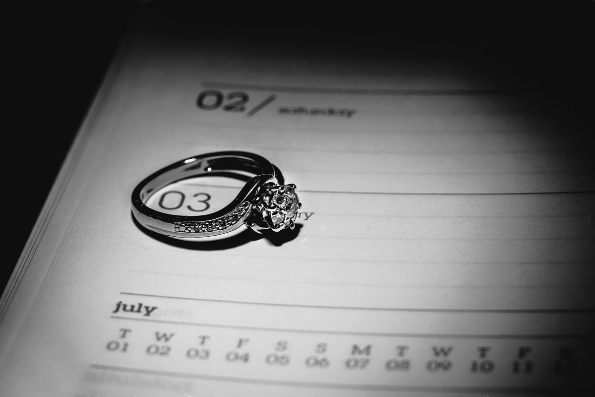 Wedding photographer Leicester wedding rings